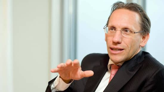 Jörg Kukies - Interview mit dem Goldman Sachs-Co-Chef in einem Besprechungsraum im deutschen Firmensitz im Messeturm in Frankfurt am 19.11.2015.