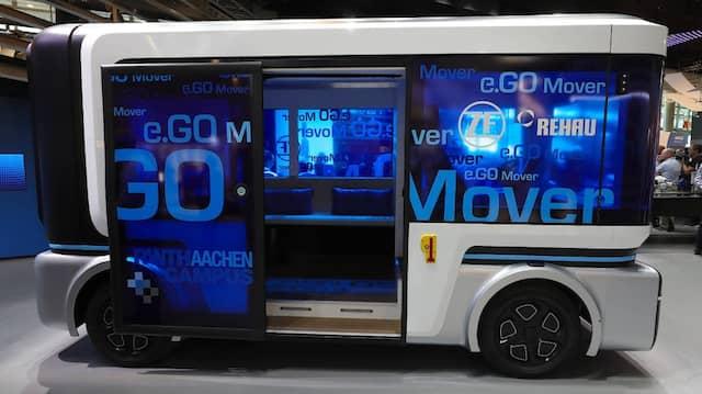 Blick in die Zukunft: Elektro-Reisebus e.Go Mover