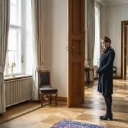 """""""Corona verändert unsere Rituale. Wir können nicht unbelastet trauern"""": Elke Büdenbender, Mitte Januar in Schloss Bellevue."""
