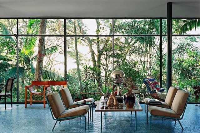 Casa de Vidro (1952): Lina Bo Bardi baute sich ihr Eigenheim in den Regenwald.