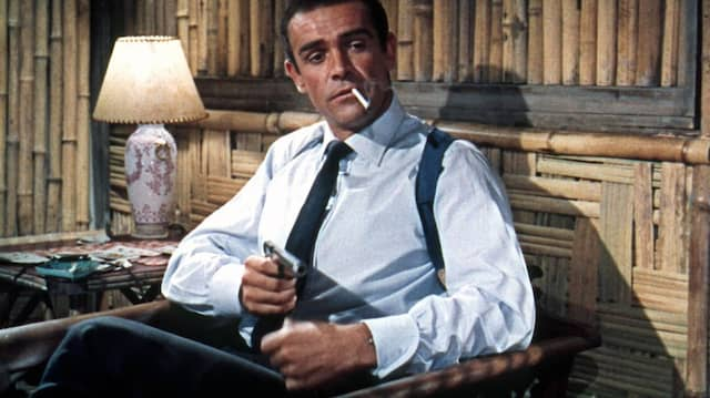 Connery 1962 als James Bond