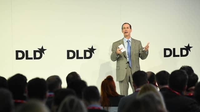Idealab-Chef Bill Gross am Montag auf der DLD.