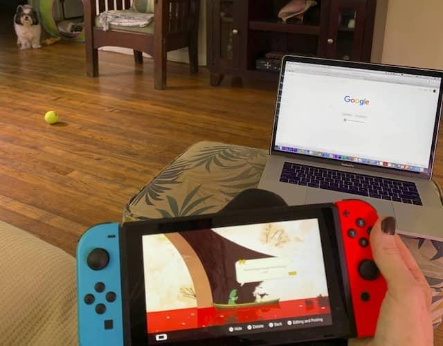 """""""Wenn ich alle Aufgaben abgearbeitet habe, kann ich Nintendo Switch spielen oder Fernsehen gucken"""", sagt Mateo. (Symbolbild)"""