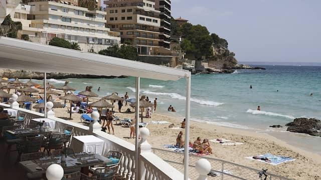 Der Strand Cala Major in Palma – herrscht hier bald gähnende Leere?