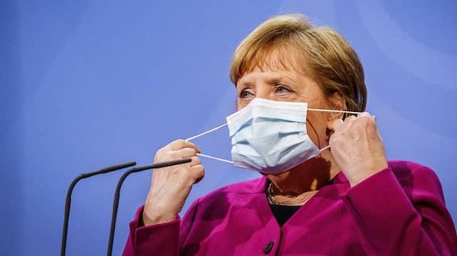 """War das Osterdebakel eine """"Zäsur""""? Bundeskanzlerin Angela Merkel vergangene Woche in Berlin."""