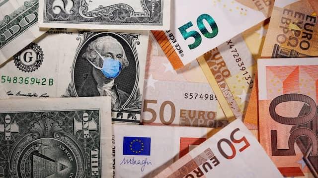 Der Einfluss von Dollar-Euro-Währungsschwankungen ist auf lange Sicht vernachlässigbar.