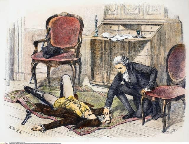 """Der Roman """"Die Leiden des jungen Werthers"""" erschien 1774 und löste eine Welle von Suiziden aus."""