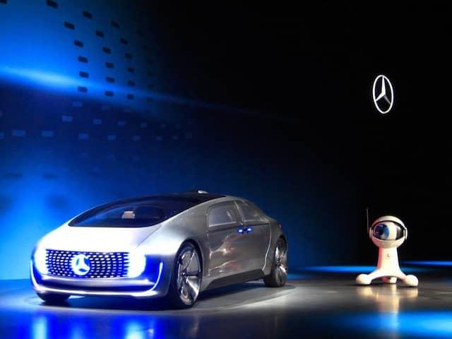 Anfang des Jahres präsentierte Daimler diesen Prototypen eines selbstfahrenden Autos in Las Vegas.
