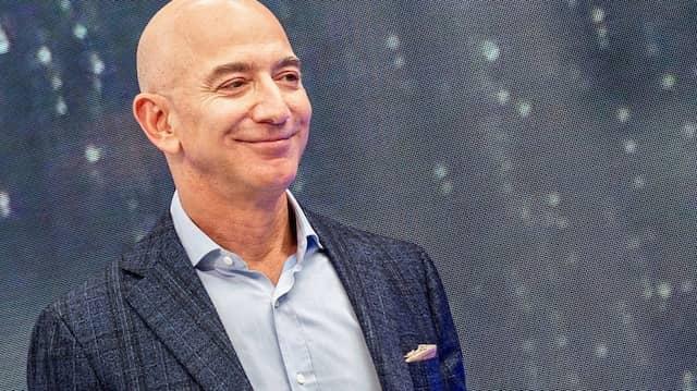 Jeff Bezos, Gründer von Amazon, nimmt 2019 an einer Veranstaltung seines Unternehmens teil.