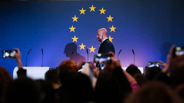 Sein Vorschlag zum EU-Budget kam nicht besonders gut an: EU- Ratspräsident Charles Michel