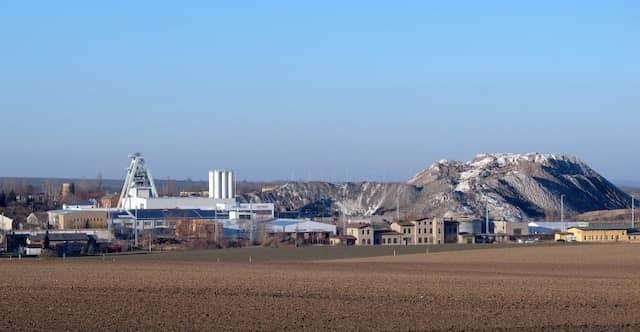 Archivbild von der Bergbaugrube Teutschenthal