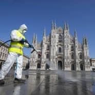 Alle gegen das Virus: Mailand ist von der Pandemie besonders betroffen.