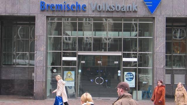 Rund 1000 Privatkunden betroffen: Die Bremische Volksbank gibt Negativzinsen an ihre Kunden weiter.