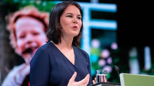 Sieht sich ihrer Kür zur Kanzlerkandidatin der Grünen mit einer Verleumdungskampagne konfrontiert: Annalena Baerbock