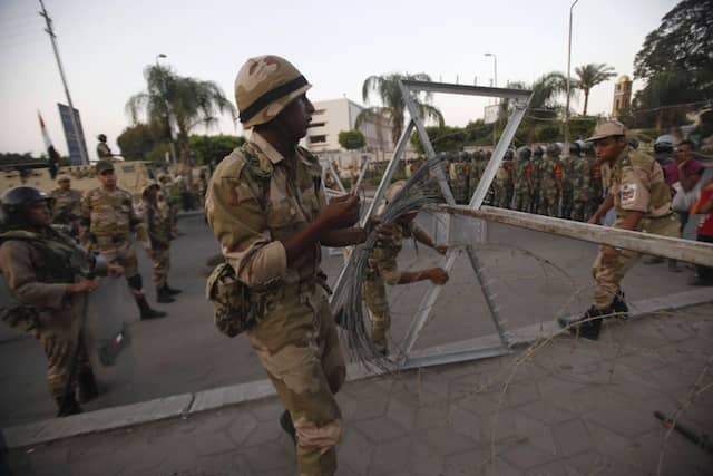 Militärische Prävention gegen eine blutige Eskalation
