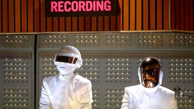 Daf Punk bei den Grammy Awards 2014 in Los Angeles