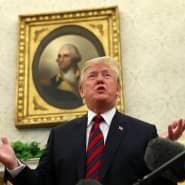 """""""Man ist nie ganz sicher, was herauskommt"""": Trump am Dienstag im Weißen Haus"""
