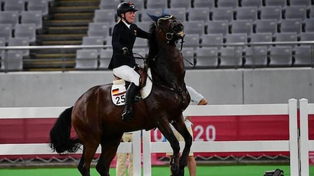 Wenn das Pferd nicht will: Annika Schleu im Fünfkampf bei Olympia