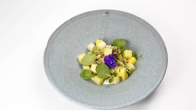 Lieblingsgericht von Katja Kipping: Apfel-Sellerie-Sahne-Gemüse mit Butterkartoffeln