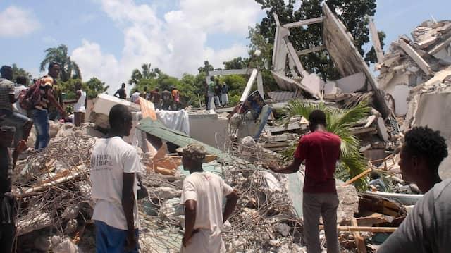 Haiti ruft den Notstand aus