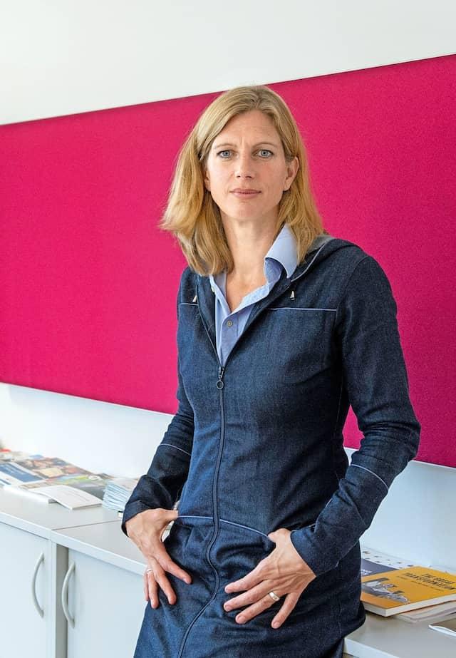 Steigt auf: Nachhaltigkeitsforscherin Maja Göpel