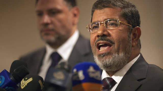 Enge Kontakte zur Türkei: Mohammed Mursi, Präsidentschafsanwärter der ägyptischen Muslimbrüder