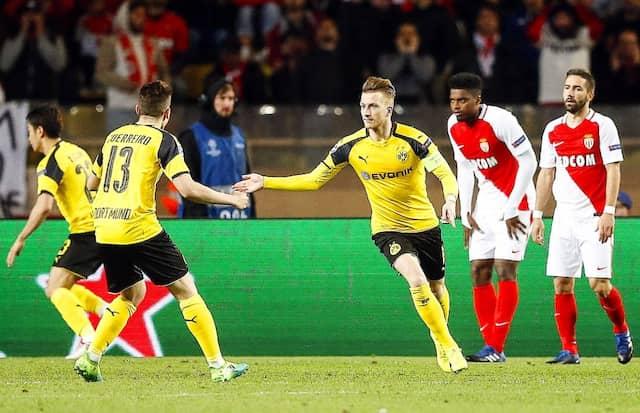 Marco Reus bringt mit seinem Treffer zum 2:1 noch einmal Hoffnung ins Spiel der Dortmunder.