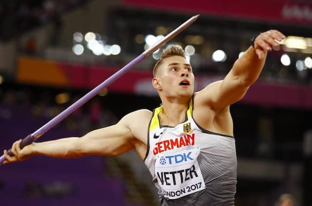 Gold fest im Blick: Johannes Vetter.