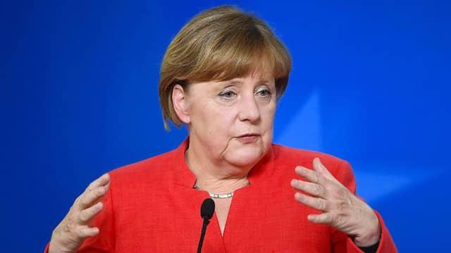 Bundeskanzlerin Angela Merkel kann mit den aktuellen Zahlen wohl zufrieden sein.