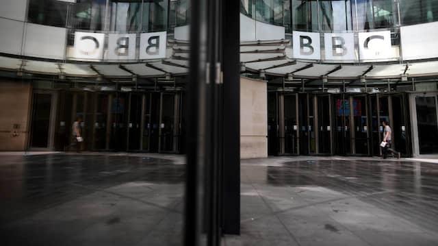 Die Zeiten der alten Rundfunkherrlichkeit vorbei. Der BBC-Hauptsitz in London.