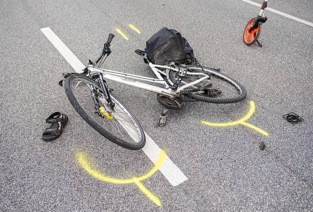 Sicherheit gibt es auch auf dem Damenrad nicht
