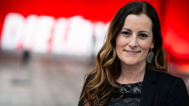 Neues Duo an der Spitze: Janine Wissler wurde gemeinsam mit Susanne Hennig-Wellsow zur Vorsitzenden der Linkspartei gewählt.