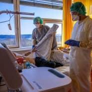 Im Vergleich zu anderen europäischen Ländern hat Deutschland viele Betten auf Isolierstationen und in der Intensivpflege.