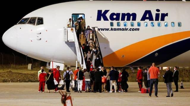 Wie steht das Grundgesetz zu den Evakuierungen in Afghanistan?