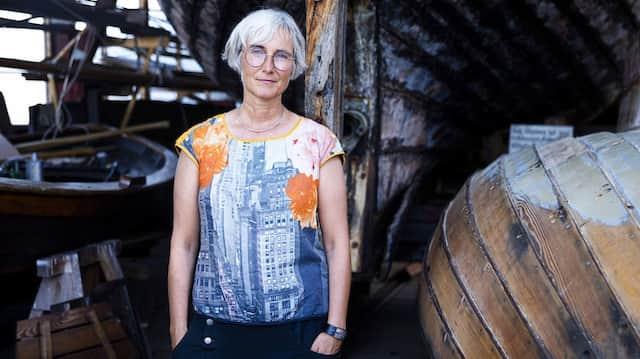 In Flensburg zu Hause: Andrea Paluch, Schriftstellerin, Musikerin, Dozentin, Sängerin, geht ihren eigenen Weg.