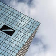 Einer der wichtigsten Arbeitgeber der Stadt: die Deutsche Bank