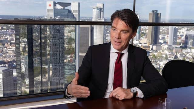 Martin Lück, Chefanleger des amerikanischen Vermögensverwalters Blackrock.
