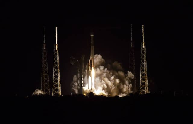 Ein Bilderbuchstart: Am 9. Februar um 23.03 Uhr Ortszeit in Cape Canaveral wurde der Solar Orbiter von einer Atlas V Rakete in Richtung Sonne geschickt.