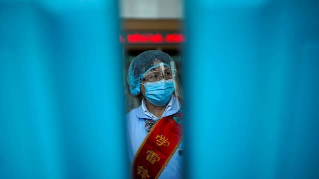 Der Vorhang zieht sich zu: China könnte sich nach Virusausbruch und Verbalattacken außenpolitisch weiter isolieren.