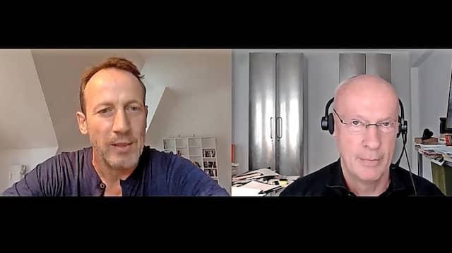 Wotan Wilke Möhring im Gespräch mit  Joachim Steinhöfel