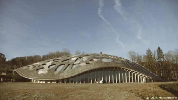 Moderne Architektur aus Holz