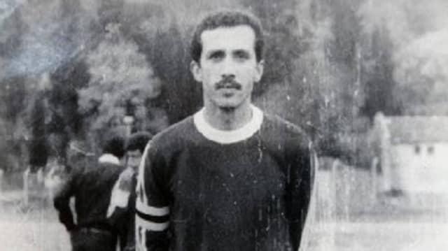 Den Profivertrag bei Fenerbahçe schlug er aus: Der Fußballer Erdogan, Mitte der siebziger Jahre.