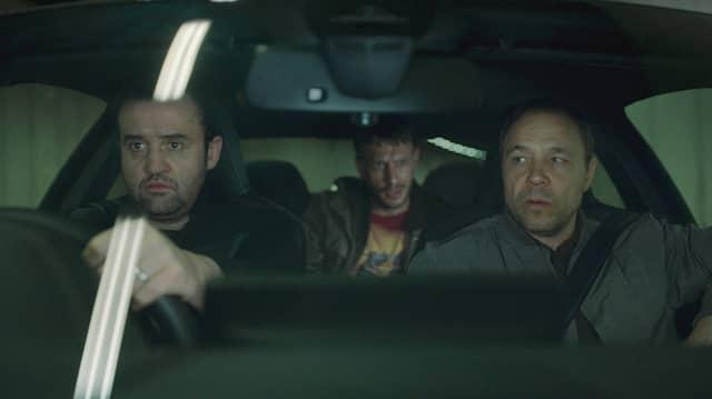 Anderthalb Cops und ein Drogendealer, der vermutlich als einziger weiß, was hier läuft: Major (Daniel Mays, links) und Roy (Stephen Graham, rechts)
