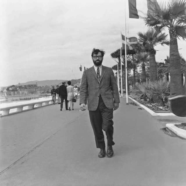 Francis Ford Copolla auf der Croisette im Jahr 1967