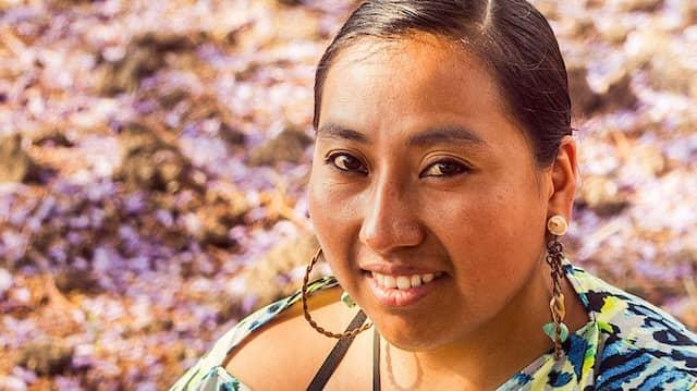 Die Rapperin Mare Advertencia Lirika gehört zur indigenen Bevölkerung Mexikos