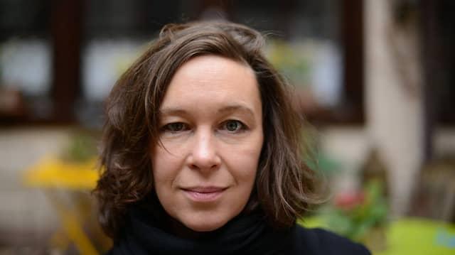 Lyrikerin Monika Rinck im Jahr 2013