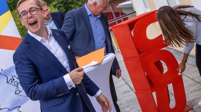 Für jeden Schabernack zu haben: CDU-Politiker Philipp Amthor.