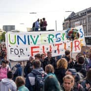 Students-for-Future-Demonstration in Hamburg