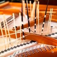 """Klavierpräparation für Ingrid Schmoliners Werk """"MNEEM"""" im Wiener Konzerthaus 2019"""