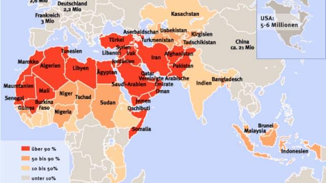 Länder Ohne Islam